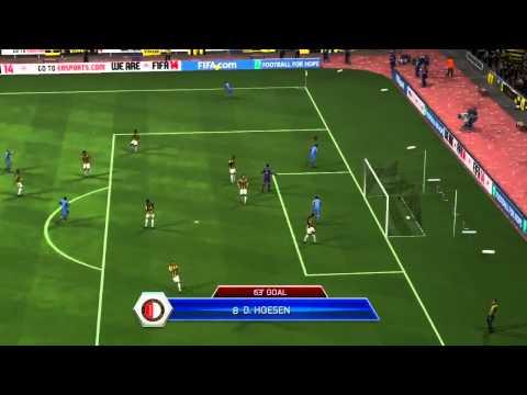 FIFA 14 — лучшие голы недели (подборка №4)
