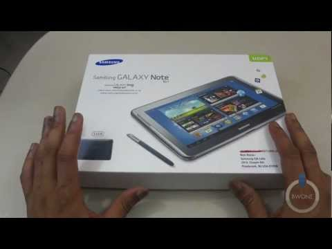 Samsung Galaxy Note 10.1 Unboxing- BWOne.com