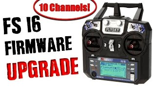 10 Channel DIY Firmware Update for TGY-i6 or FS-i6 Transmitter | Tutorial