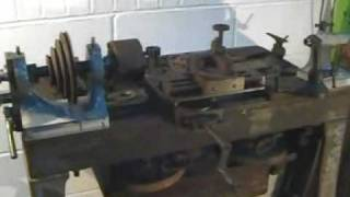 Antique Karger TREADLE LATHE with Screwcutting SOLD