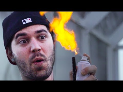 HOMEMADE FLAME THROWER! (11.6.13 – Day 1651)