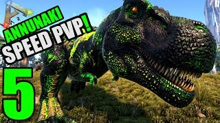 Ark Wingman S1 #5 500er POISON REX | Annunaki Speed PvP | Deutsch | Ark Survival Evolved German