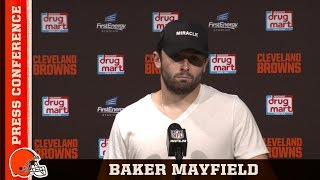 Baker Mayfield on Frustrating Penalties in Week 1 | Cleveland Browns