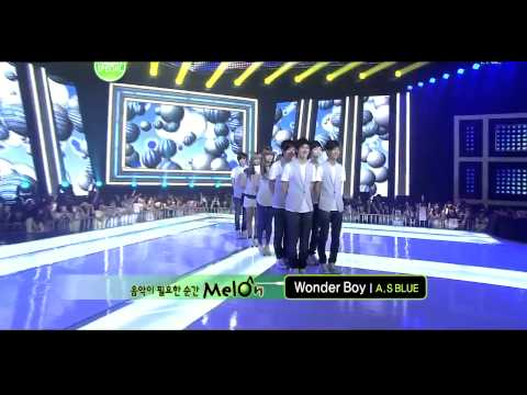 [hd] After School Red blue - Night Sky wonder Boy [live At Inkigayo Comeback Stage] video
