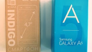 Samsung A5 vs Explay indigo кто круче.