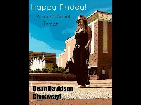 Happy Friday!!  Dean Davidson Giveaway!  💎 💕