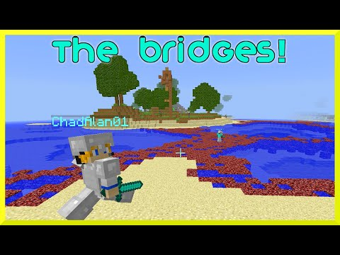 Minecraft Monday EP70 - Epic Intense Bridges GamePlay with Gamer Chad Alan on Mineplex