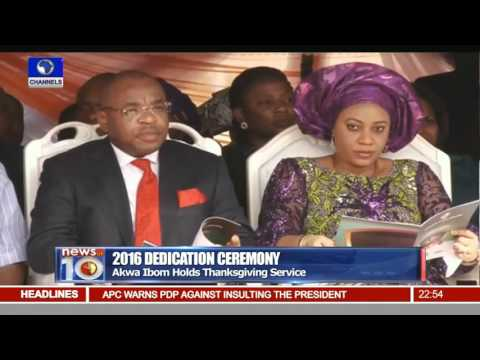 News@10: Lagos Government Holds Thanksgiving Service Pt.4