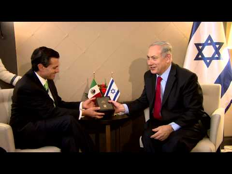 PM Netanyahu Meets President of Mexico Enrique Pena Nieto