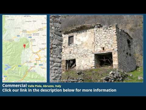 Commercial for Sale in Valle Piola, Abruzzo, Italy on italianlife.today