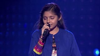 The Voice India - Sakshi Chauhan Performance in Blind Auditions