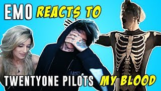 """Emo Reacts to Twenty One Pilots """"My Blood"""" Music Video with Girlfriend"""