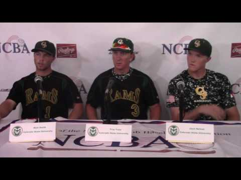 2016 NCBA DI World Series Game 6 Post Game Press Conference
