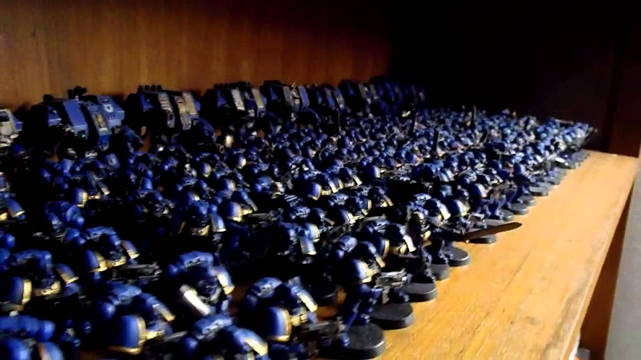 Ultramarines Army My Ultramarines army