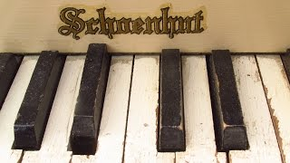 TRYING to FIX - and PLAYING! - an ANTIQUE SCHOENHUT CHILDREN'S TOY GRAND PIANO!