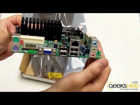 Intel mini ITX motherboard with Atom D510 (BOXD510MO) unboxing by geekshive.com