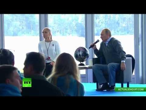 Putin responde las preguntas del foro juvenil Seliguer (VERSIÓN COMPLETA)