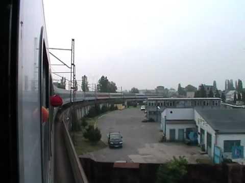 Szczecin Główny - Szczecin Port Centralny mega długim składem na 128 kołach :)