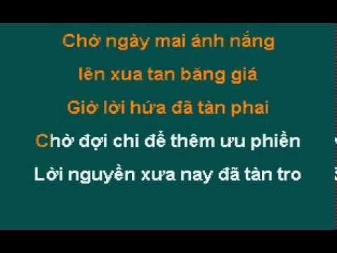 Loi Nguyen San Nhac  Karaoke video