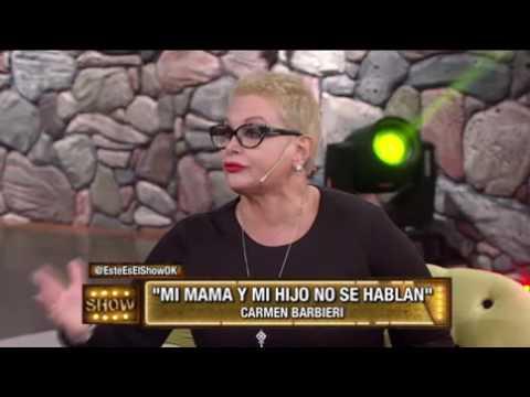 Carmen Barbieri y Connie Ansaldi se sacaron los ojos en vivo