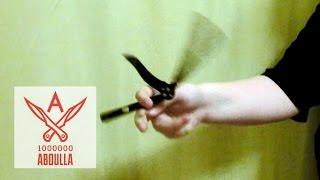 Как сделать керамбит нож своими руками
