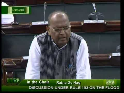 Lok Sabha: Flood and drought situation in the country: Dr. Bhola Singh: 01.08.2014