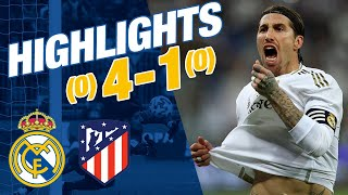 GOALS & HIGHLIGHTS | Real Madrid 0-0 Atlético (4-1 penalties) | Spanish Super Cup
