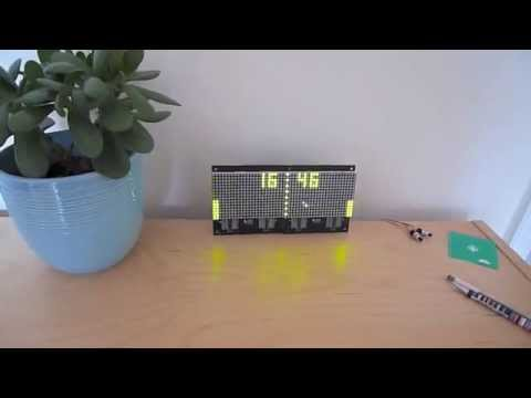 LED Pong Clock