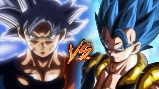 Mastered Ultra Instinct Goku VS Super Saiyan Blue Gogeta - Who is stronger? DBS Discussion