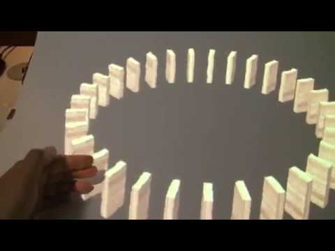 MirageTable: Freehand Interaction on a Projected Augmented Reality Tabletop.