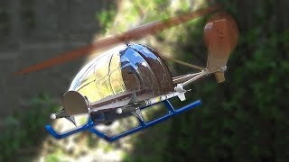 How to Make a Helicopter - DIY Homemade Helicopter