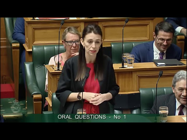 Question 1 - Bill English to the Prime Minister