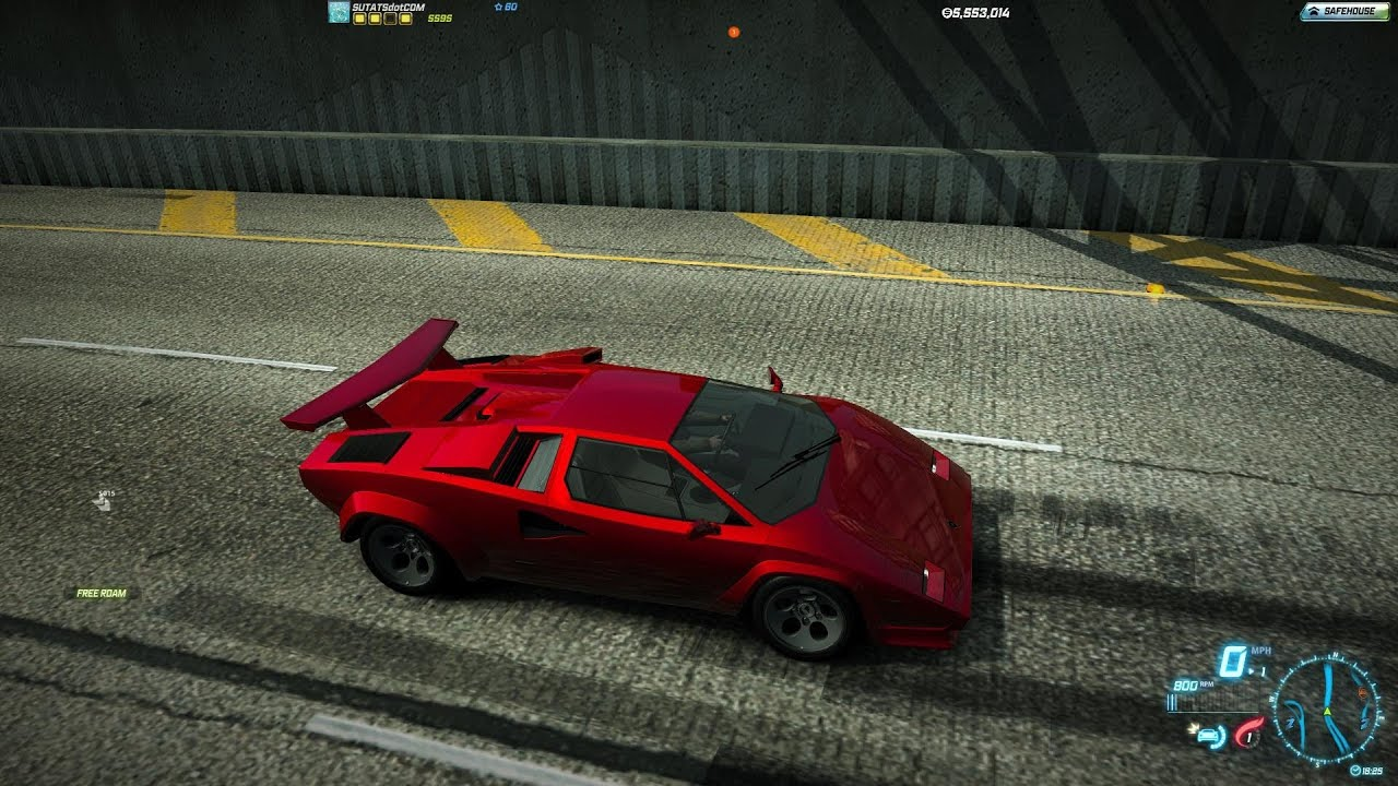 need for speed world lamborghini countach 5000 quattrovalvole igc 17 march 2014 youtube. Black Bedroom Furniture Sets. Home Design Ideas