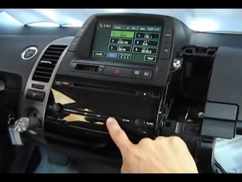 GROM-IPD3: Toyota Prius 2007 2008 2009  iPod Interface Adapter installation