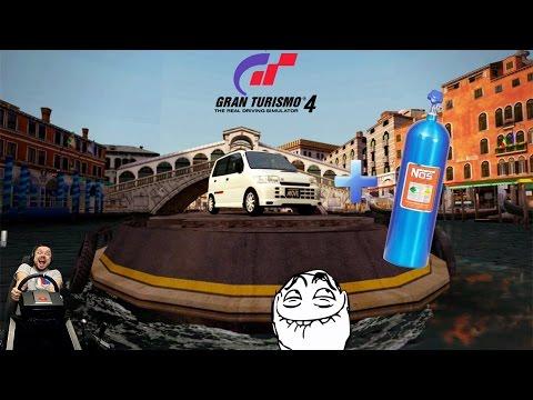Японская бричка Daihatsu Move SR-XX на закиси азота :D Gran Turismo 4К на ПК + Fanatec CSL Elite