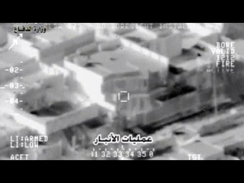US air strikes target Mosul in Iraq
