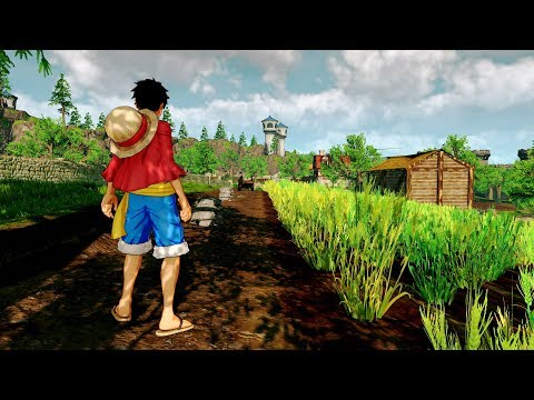 One Piece: World Seeker - First Look at First Trailer (PS4, Xbox One, PC, Off-screen)