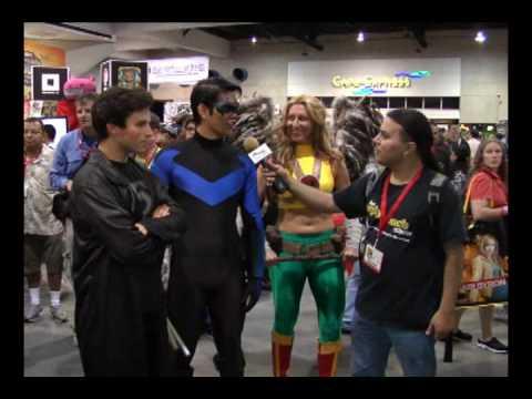 Fan Interviews at Comic-Con 2010
