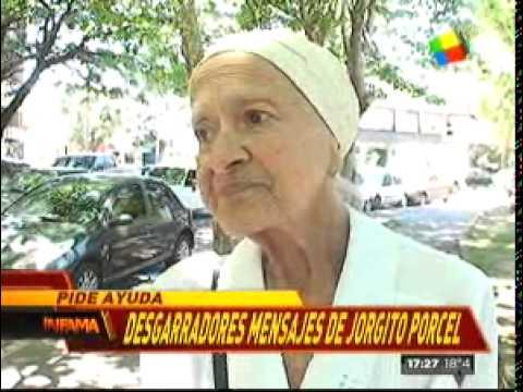 Preocupación | Internaron a la mamá de Jorge Porcel Junior