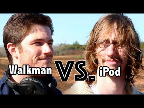 Walkman vs.  Ipod