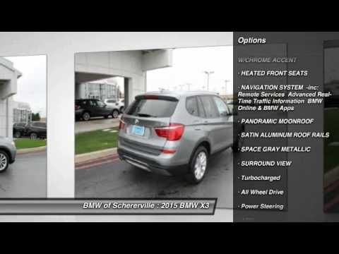 2015 BMW X3 Schererville, Chicago, Gary, Lansing 15005