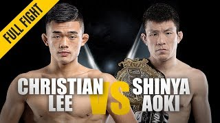 Christian Lee vs. Shinya Aoki | ONE: Full Fight | Passing The Torch | May 2019