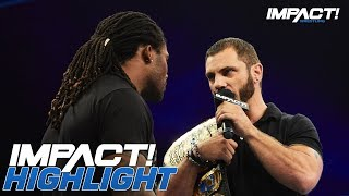 Austin Aries ASSAULTS Ex-NFLer DeAngelo Williams | IMPACT! Highlights July 12, 2018