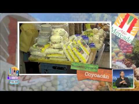 El Mercado de Coyoacán: productos tradicionales y cremería