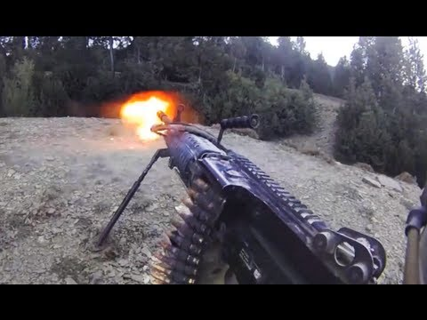MK-48 Firefight With Close A-10 Gun Runs