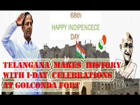 Telangana makes history with I-Day celebrations at Golconda Fort