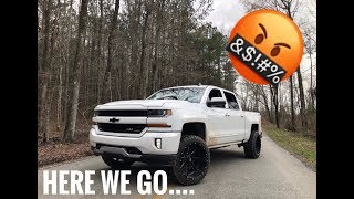 5 things I HATE about my 2018 Chevy silverado.....