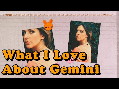 What I Love About Gemini video