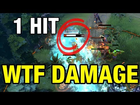 WTF DAMAGE - Moo Plays Monkey King - Dota 2