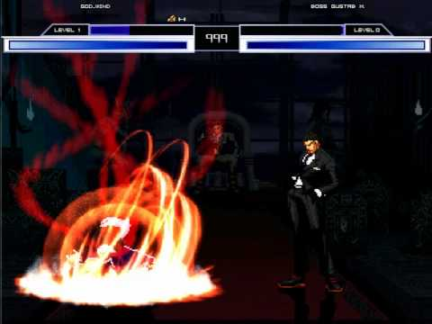 MUGEN God Wind VS Boss Gustab M